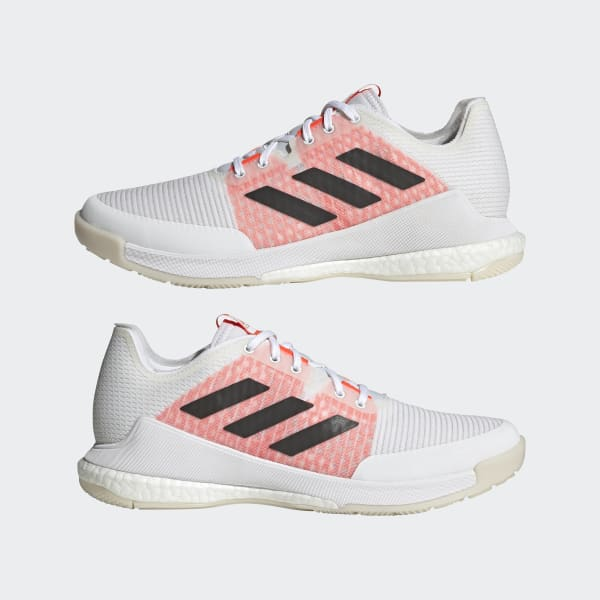 adidas CrazyFlight Tokyo Volleyball Shoes - White   adidas US
