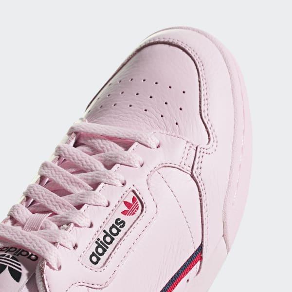 best cheap 1cea7 26743 adidas Sapatos Continental 80 - Rosa  adidas MLT