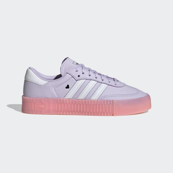 adidas viola e rosa