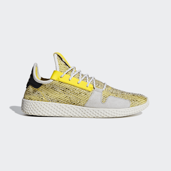 19e6898104cb4 Pharrell Williams SOLARHU Tennis V2 Shoes Yellow   Cloud White   Core Black  BB9543