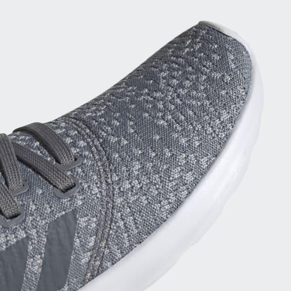 Gray Adidas Memory Foam Slip On Trainers