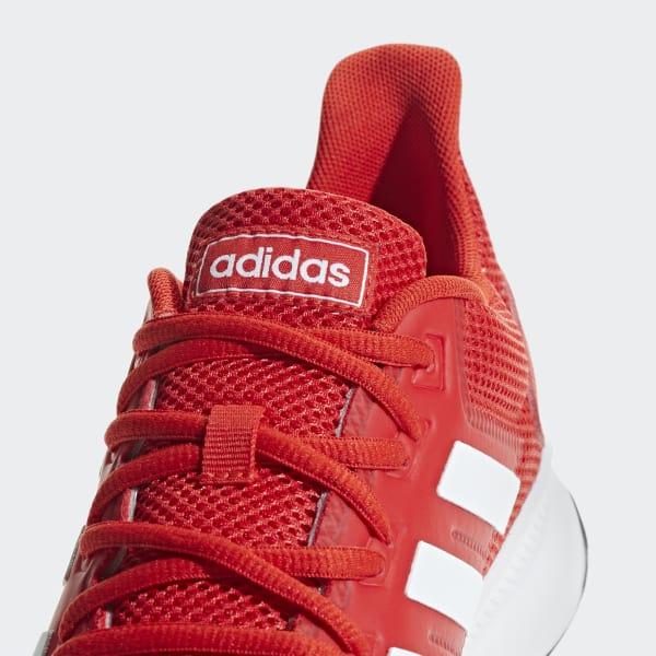 tela Tranvía girasol  adidas Tenis Runfalcon - Rojo | adidas Colombia