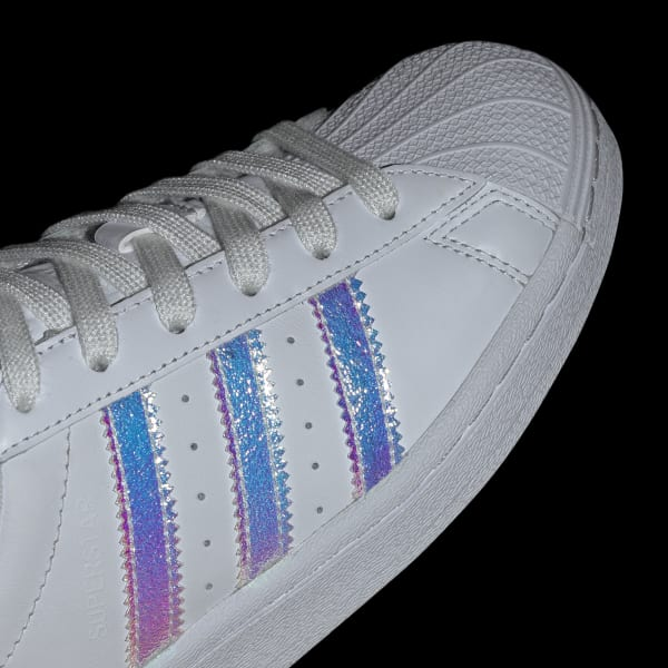 Kids Superstar Cloud White Iridescent Shoes   FV3139   adidas US