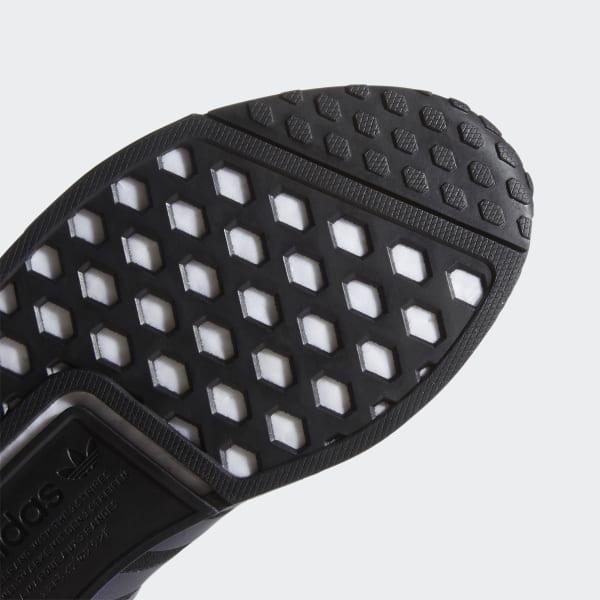 Adidas NMD R1 Boost Mens Running Shoes Core Black//Solar Orange//White FV8025 NEW!