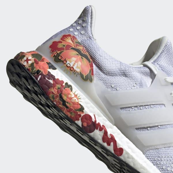 Adidas Originals Red Floral High Tops