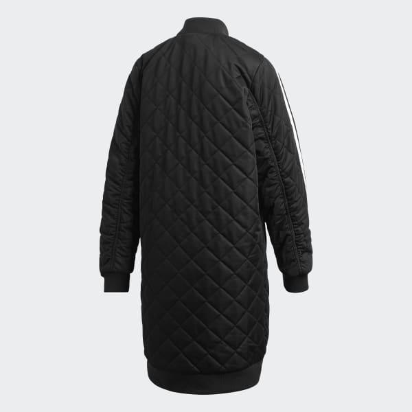 adidas Bunda Long Bomber - čierna  4639e009000