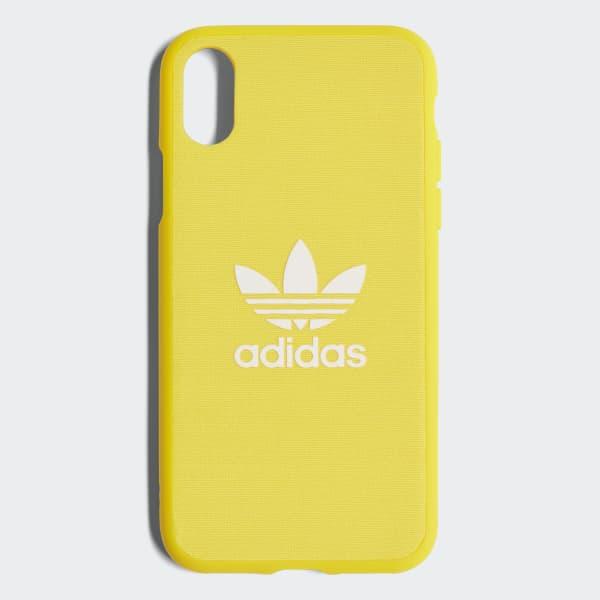adidas Adicolor Snap Case iPhone 8 Gul | adidas Sweden