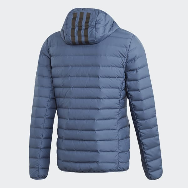 adidas Varilite Soft 3 Streifen Hooded Jacke Orange