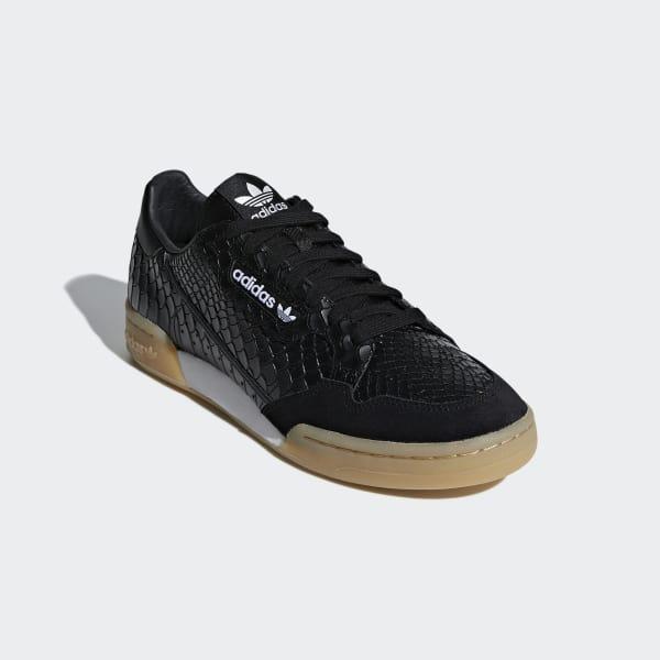 adidas Continental 80 Schuh - schwarz  d535dbafd