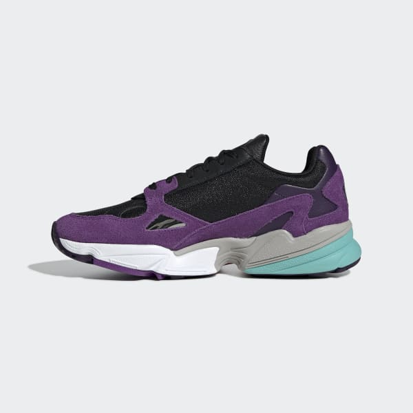 adidas falcon mujer violeta