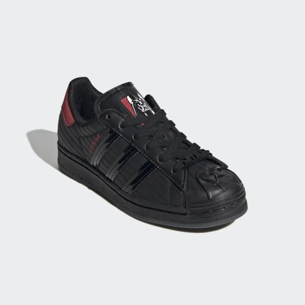 Adular Aburrido Supervisar  adidas Superstar Star Wars Darth Vader Shoes - Black | adidas Singapore