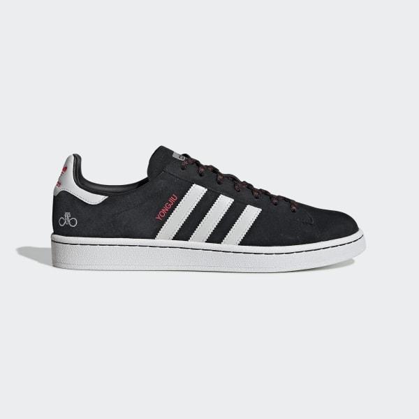 Polvo mineral Disfrazado  adidas Campus Shoes - Black | adidas US