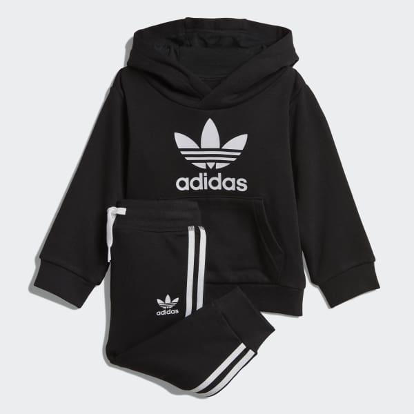 Ensemble Trefoil Hoodie Noir adidas | adidas Switzerland