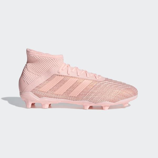 adidas Predator 18.1 Firm Ground Cleats - Pink | adidas US