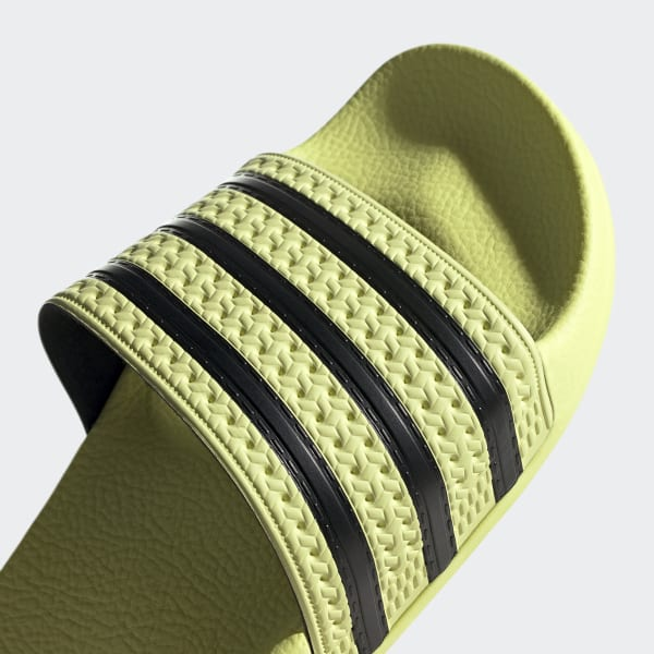 104dc4171da9 adidas Adilette Slides - Yellow