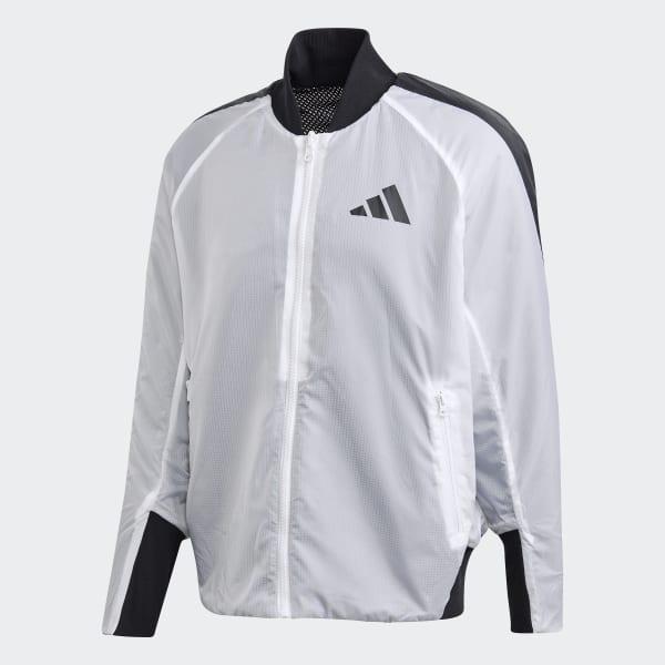 adidas VRCT Oversize Jacke Weiß | adidas Deutschland