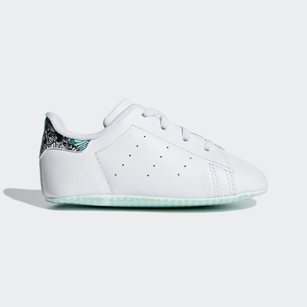 adidas Stan Smith Crib Shoes - White