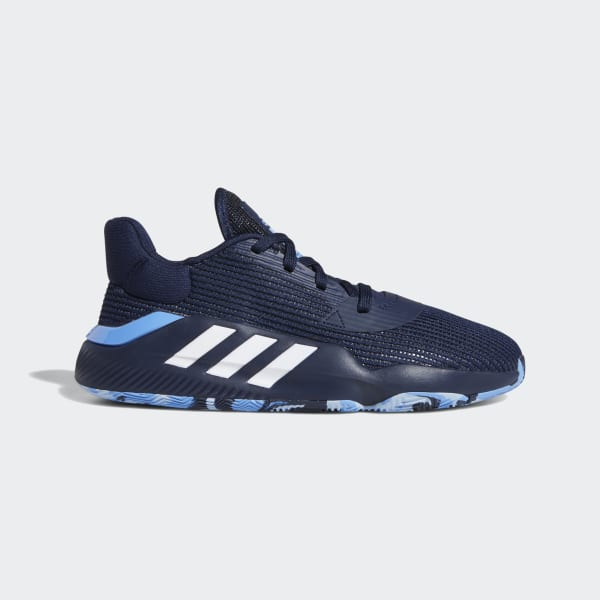 adidas Pro Bounce 2019 Low Shoes - Blue