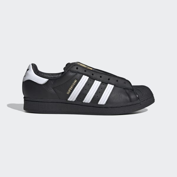 adidas Superstar Laceless Shoes - Black