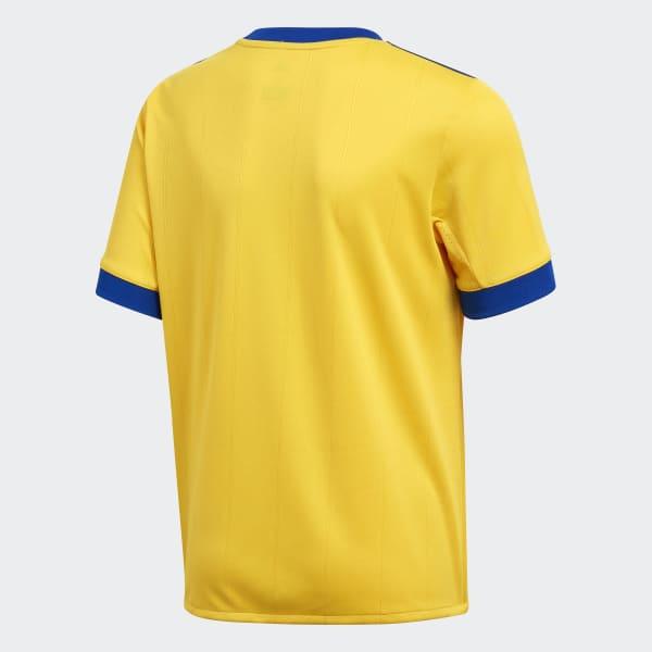 f496a1ebf adidas Juventus Away Jersey - Gold