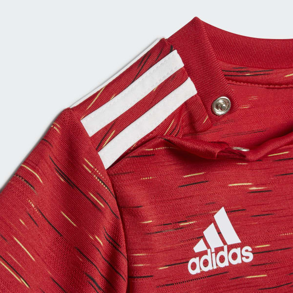 adidas Manchester United 2021 Home Baby Kit Röd   adidas