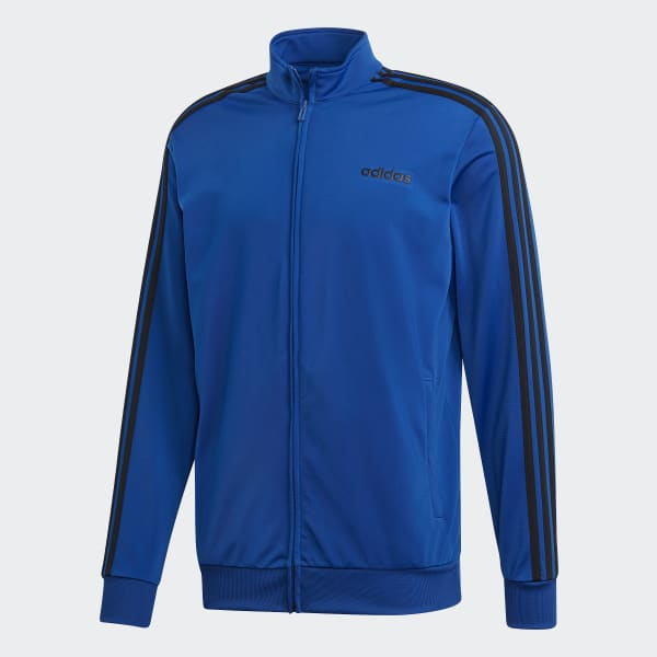 03b9055cc08ad adidas Essentials 3-Stripes Tricot Track Jacket - Blue | adidas US