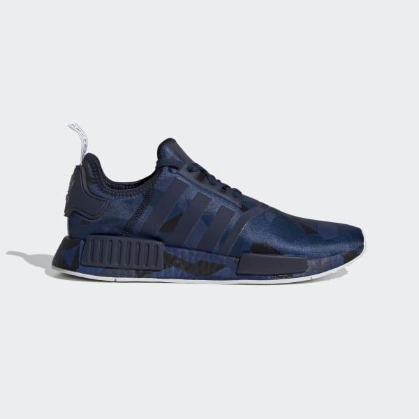 NMD R1 Metallic Blue Shoes | adidas US