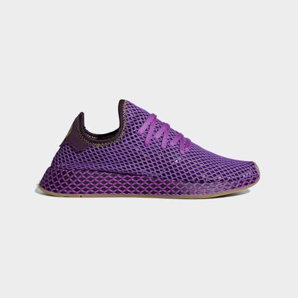 31d1db0e9bf4 adidas Dragonball Z Deerupt Runner Shoes - Purple
