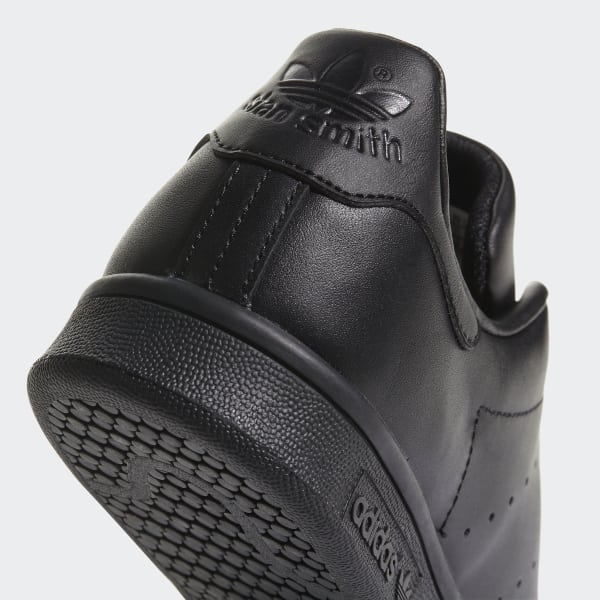 ADIDAS ORIGINALS STAN SMITH LEATHER SNEAKERS IN BLACK M20327