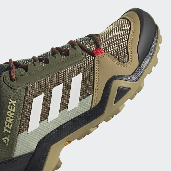 adidas Terrex AX3 Hiking Shoes - Green | adidas US