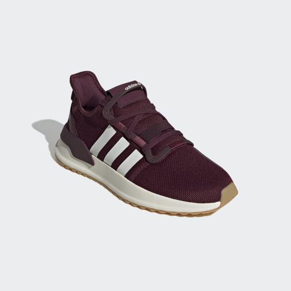 adidas U_Path Run Shoes - Burgundy