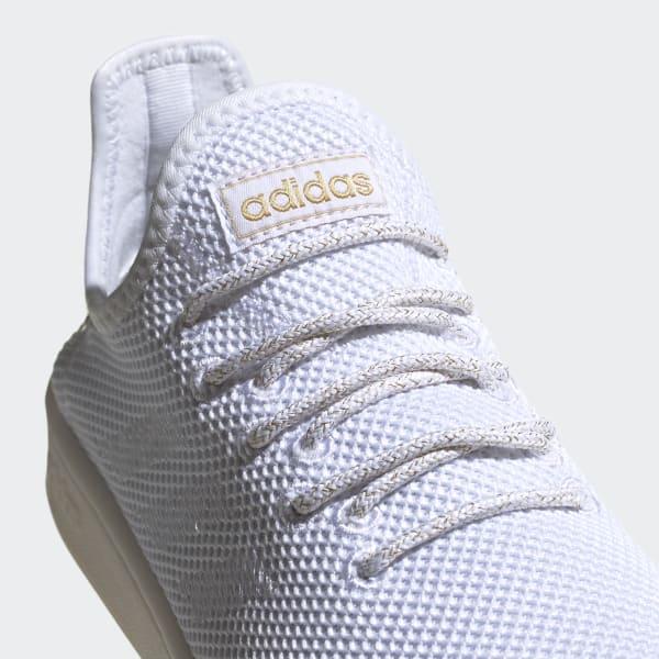 adidas court adapt bianche