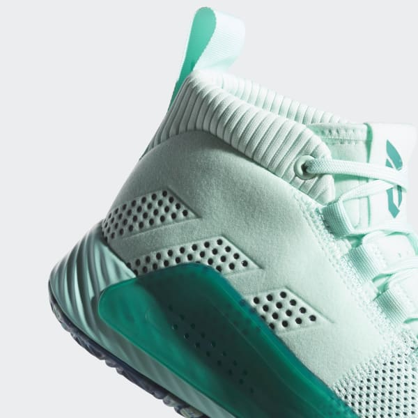 timeless design 06def fa6d4 adidas Dame 5 Shoes - Turquoise   adidas UK
