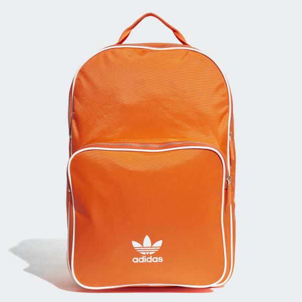 adidas Classic Backpack - Orange