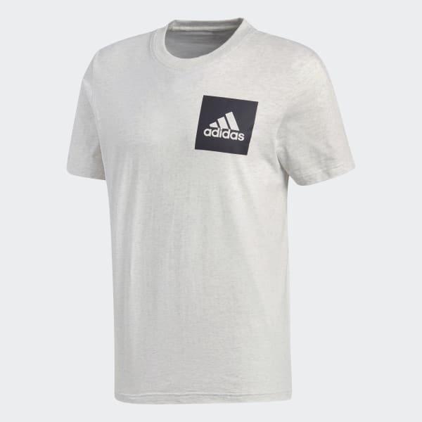 Polo Essentials Box Logo - Blanco adidas  9a6419cf611c8