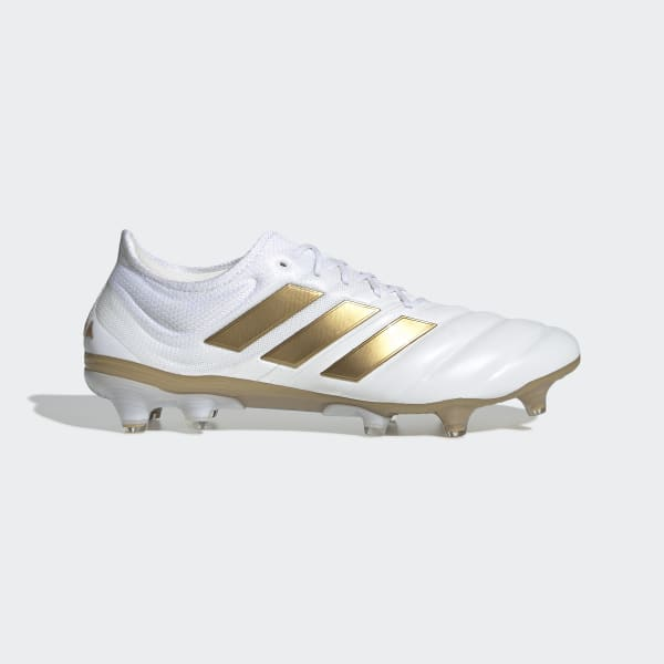 Comida valor reemplazar  adidas Copa 19.1 Firm Ground Cleats - White | adidas US