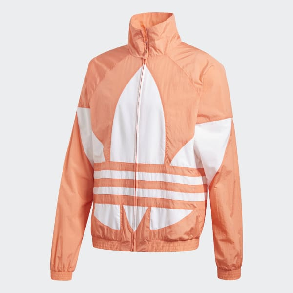 adidas Big Trefoil Originals Jacke Orange | adidas Austria