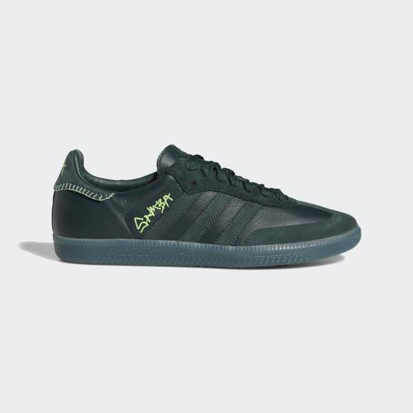adidas Jonah Hill Samba Shoes - Green