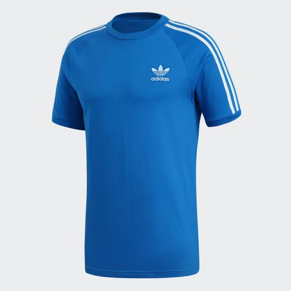 96f5b8fbf23bd adidas 3-Stripes Tee - Blue