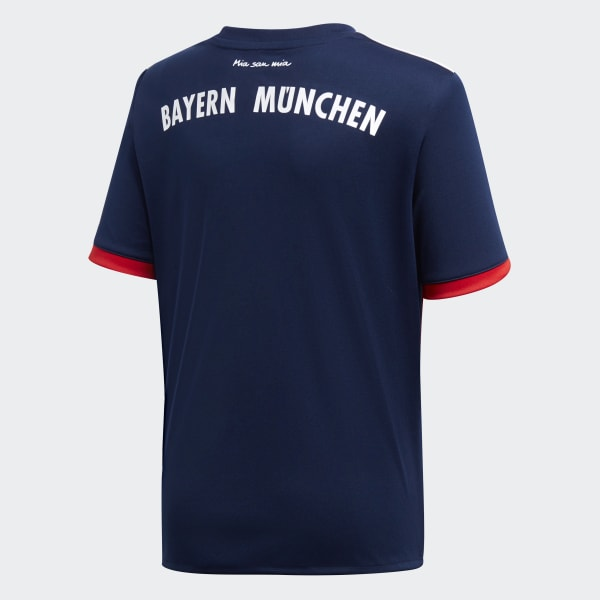 Camiseta de Fútbol de Visitante FC Bayern Múnich - Azul adidas ... 85a6b9e9c34bc