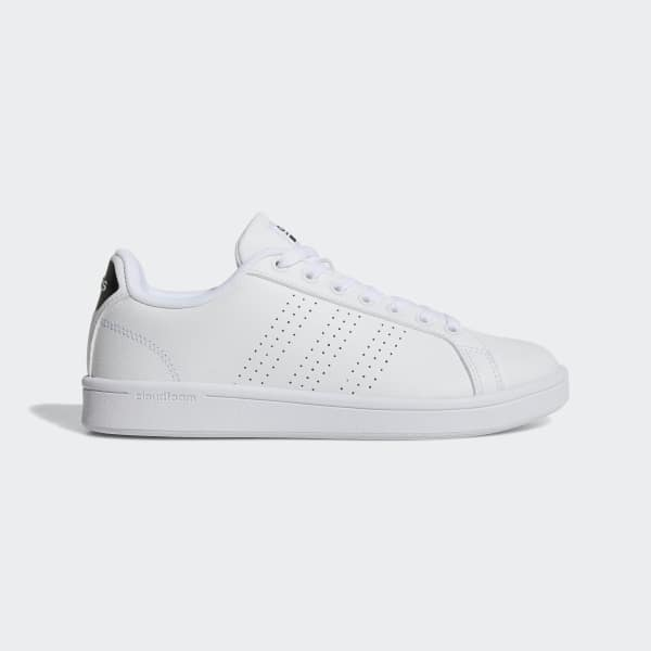 8c668f9e158 adidas Cloudfoam Advantage Clean Shoes - White