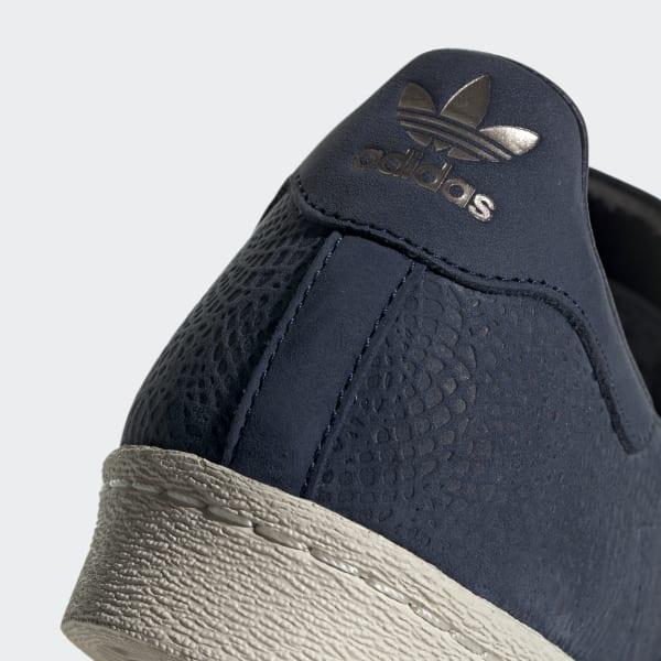 more photos 499c1 50ac9 adidas Superstar 80s Shoes - Blue   adidas Australia