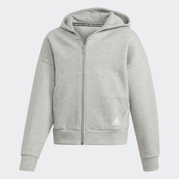 adidas hoodie damen weiss