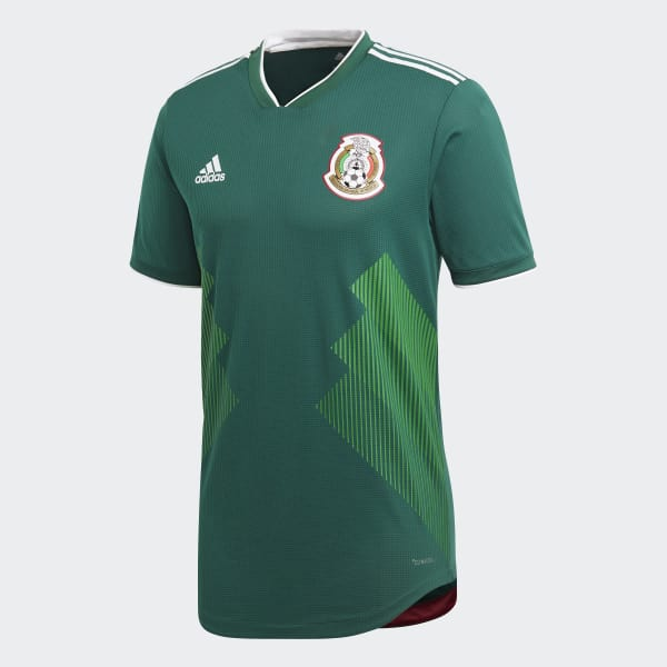 fee2fff56 adidas Mexico Home Authentic Jersey - Green