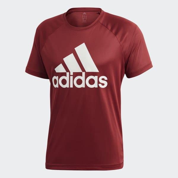 ecc45388b1 Camiseta D2M - Vermelho adidas