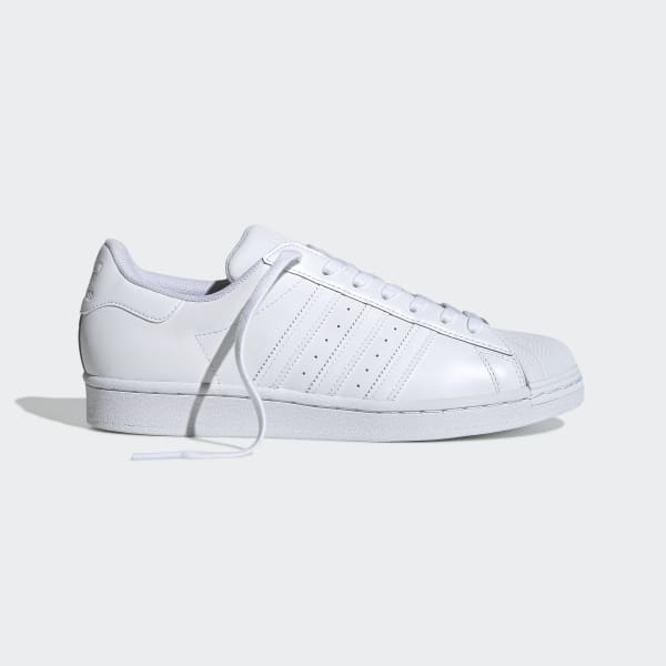 Levántate carne de vaca Disco  Superstar All White Shoes | adidas US