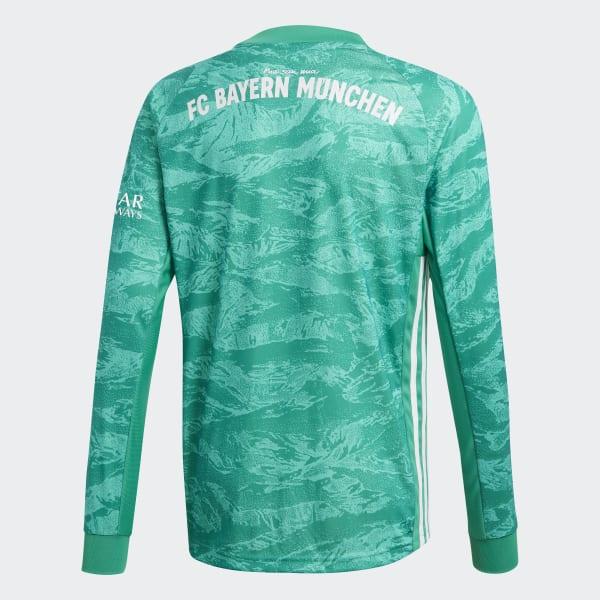 555ab64b6 adidas Dres FC Bayern Home Goalkeeper - zelená | adidas Slovakia