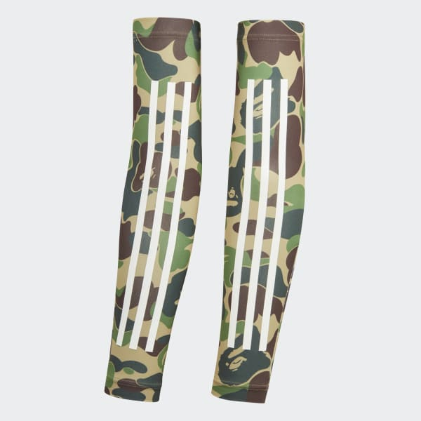 0025f28c0d1 adidas BAPE x adidas SB Arm Sleeves - Multicolor