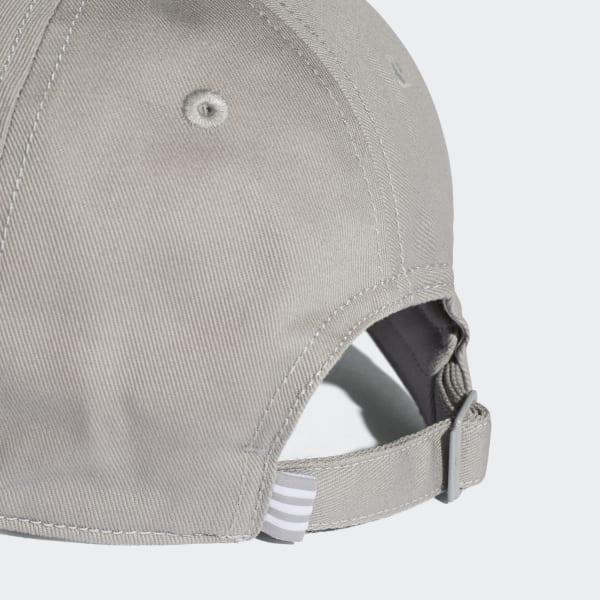 81b397e69e364 adidas Gorra Trefoil Originals - Gris