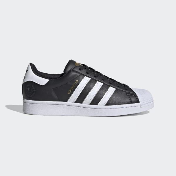 adidas Superstar Vegan Shoes - Black